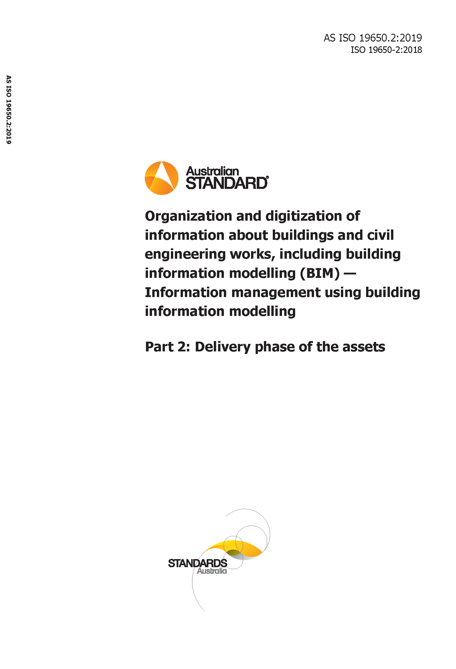 AS ISO 19650.2 cover