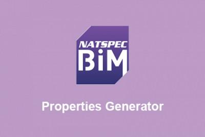 NATSPEC BIM Properties Generator